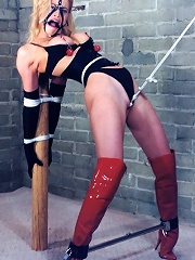 Babe Gets Punished