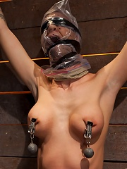Scene 44 of Novs show Brutal gag, devastating orgasms, a crotch rope from hell! Total suffering!