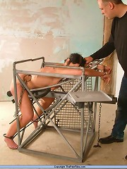 Hot chick bound and humiliated