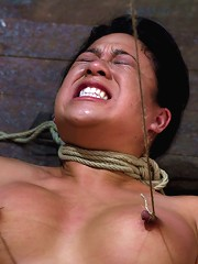 Tied and Stretch Huge NipplesBrutal Squirting OrgasmsScreaming Never Sounded so Good.