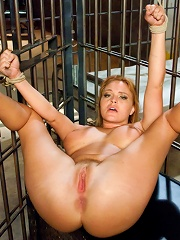 Bribing an Officer Business Woman Arrested and Ass Fucked in Bondage!
